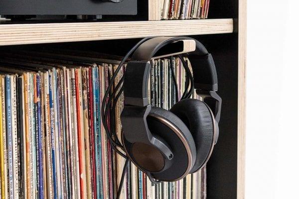 Headphone Hook on MAX Turntable Stand